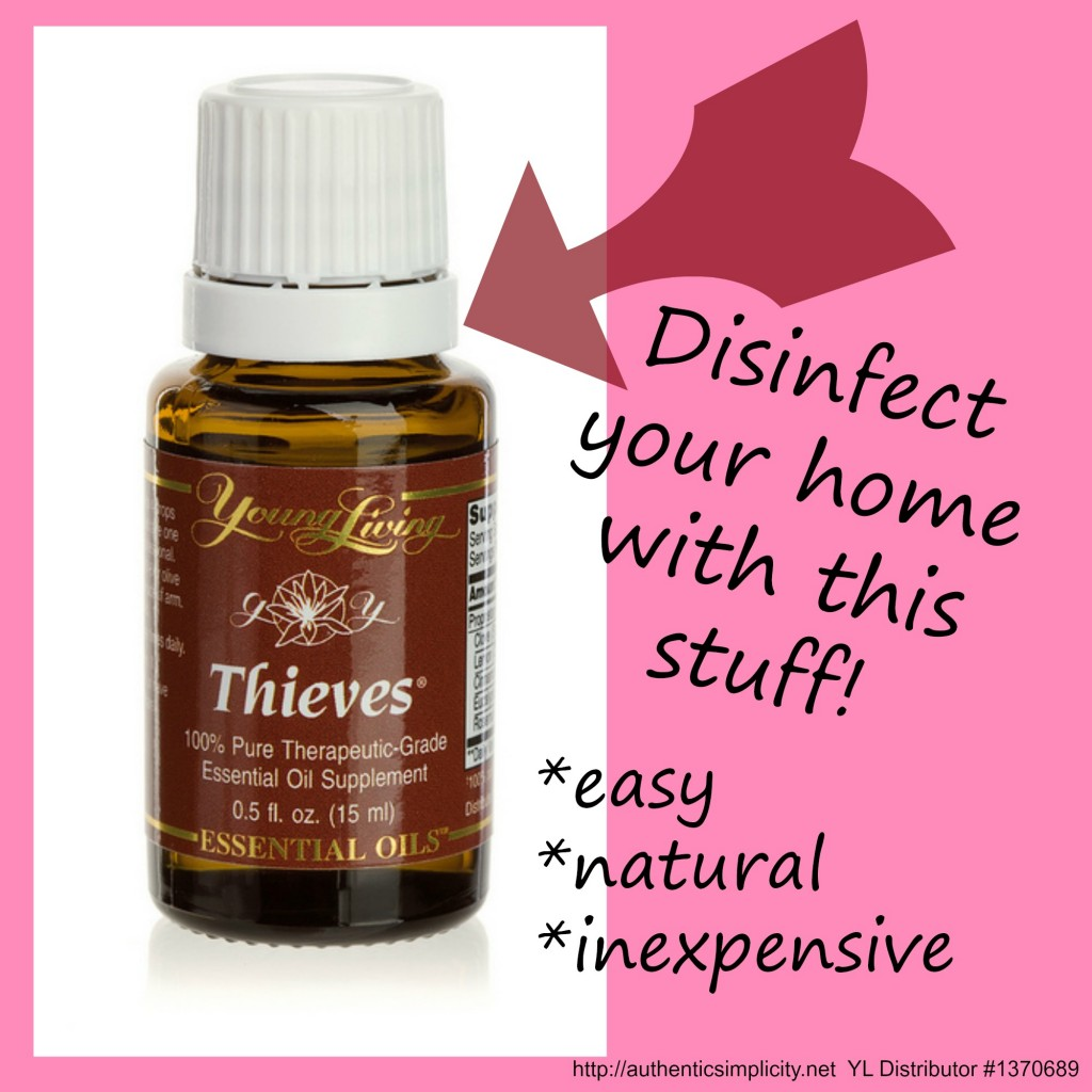 Disinfect Your Home with Thieves Oil - Authentic Simplicity